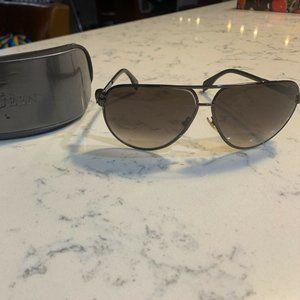 Alexander McQueen Metal Skull Pilot Sunglasses